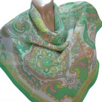 Шифоновый платок 70*70 см (П26)