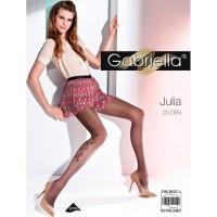 Gabriella Julia (20 den), р.4, темно-серые; бежевые