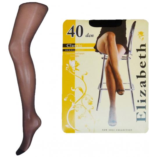 """""""Elizabeth"""" (40 den) с шортиками, чёрные"""